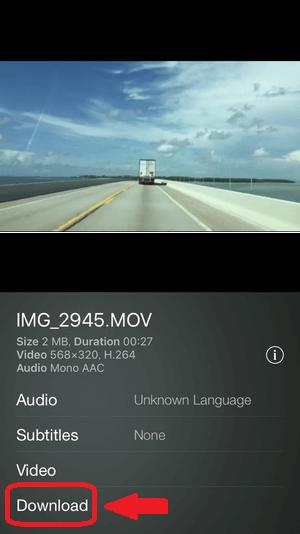 スマホアプリAir Video HDで動画をダウンロードする