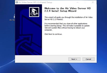 Air Video Server HD のダウンロード画面1