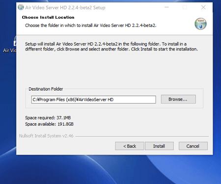 Air Video Server HD のダウンロード画面2
