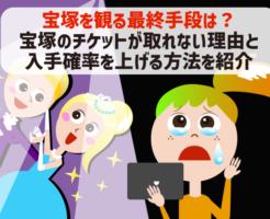 宝塚のチケットが取れない!コロナ禍でも宝塚歌劇の全国ツアー公演を観る方法